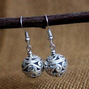 Classical Silver Earrings